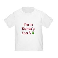 Santa's Top 8 T