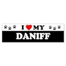 DANIFF Bumper Bumper Sticker