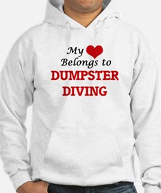 My heart belongs to Dumpster Div Hoodie