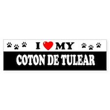 COTON DE TULEAR Bumper Bumper Sticker