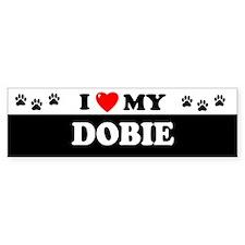DOBIE Bumper Bumper Sticker