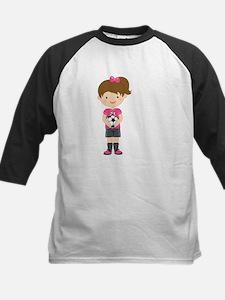 Soccer Number 10 Girl Baseball Jersey