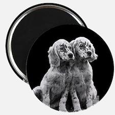 English Setter Pups-2 Magnet