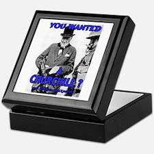 Winston Churchill Cigar Keepsake Box