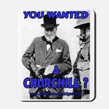 Winston Churchill Cigar Mousepad