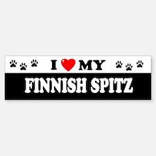 FINNISH SPITZ Bumper Bumper Bumper Sticker