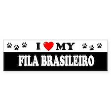 FILA BRASILEIRO Bumper Bumper Sticker