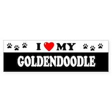 GOLDENDOODLE Bumper Bumper Sticker