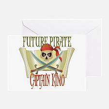 Captain Kimo Greeting Card