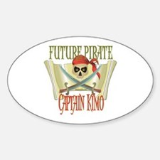 Captain Kimo Oval Decal