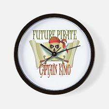 Captain Kimo Wall Clock