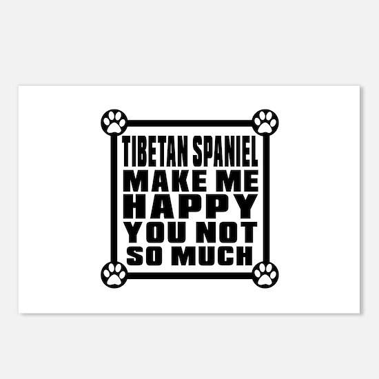 Tibetan Spaniel Dog Make Postcards (Package of 8)