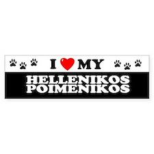HELLENIKOS POIMENIKOS Bumper Bumper Bumper Sticker