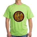 Kanji Endurance Symbol Green T-Shirt