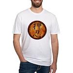 Kanji Endurance Symbol Fitted T-Shirt