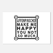Affenpinscher Dog Make Me Postcards (Package of 8)