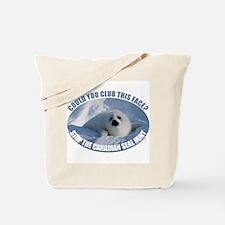 Canadian Seal Hunt Tote Bag