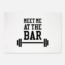 Meet Me At The Bar 5'x7'Area Rug