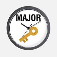 Major Key Wall Clock