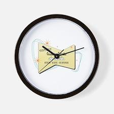 Instant Insulation Installer Wall Clock