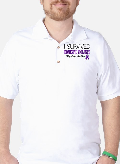 I Survived Domestic Violence-01 T-Shirt