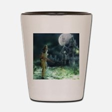 Funny Black death Shot Glass