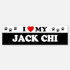 JACK CHI Bumper Bumper Bumper Sticker