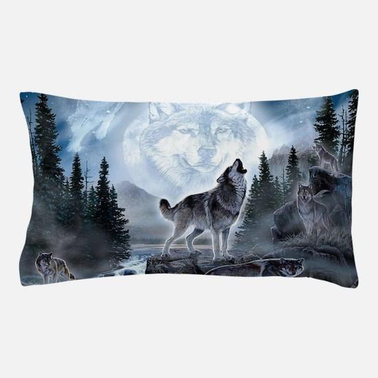 spirt of the wolf Pillow Case