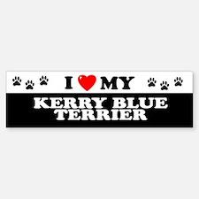 KERRY BLUE TERRIER Bumper Bumper Bumper Sticker