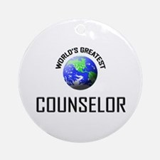 World's Greatest COUNSELOR Ornament (Round)