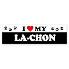 LA-CHON Bumper Bumper Sticker