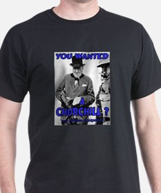 Winston Churchill Cigar T-Shirt