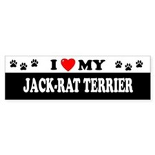 JACK-RAT TERRIER Bumper Bumper Sticker