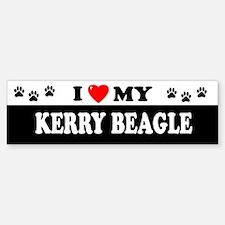 KERRY BEAGLE Bumper Bumper Bumper Sticker