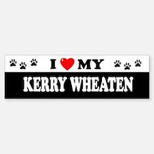 KERRY WHEATEN Bumper Bumper Bumper Sticker