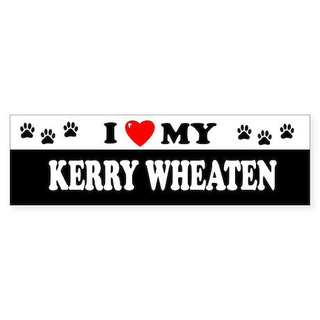 KERRY WHEATEN Bumper Sticker
