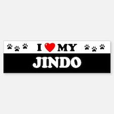 JINDO Bumper Bumper Bumper Sticker