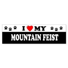 MOUNTAIN FEIST Bumper Bumper Sticker