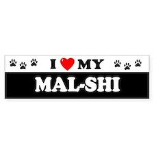 MAL-SHI Bumper Car Sticker