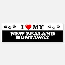 NEW ZEALAND HUNTAWAY Bumper Bumper Bumper Sticker