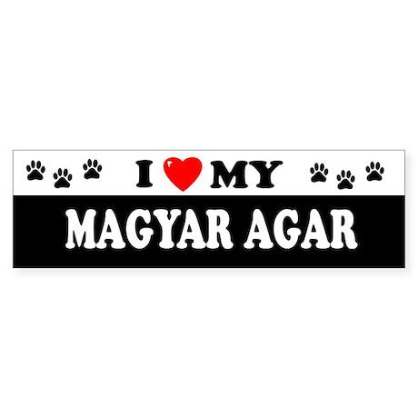 MAGYAR AGAR Bumper Sticker