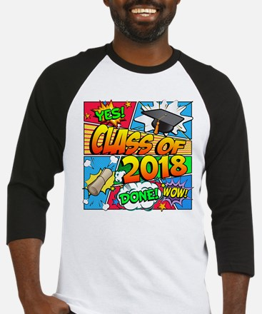 Class of 2018 Comic Book Baseball Jersey