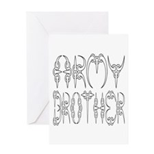 Army Brother Greeting Card