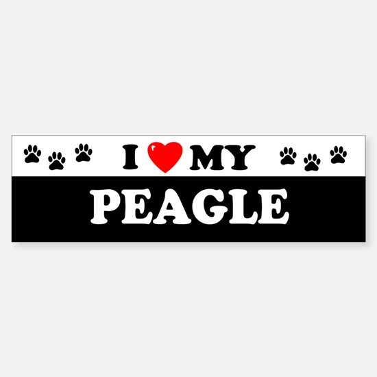 PEAGLE Bumper Car Car Sticker