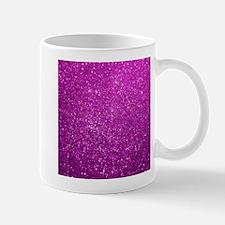 Glitter Shiny Purple Mugs