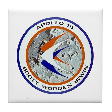 Apollo XV Tile Coaster