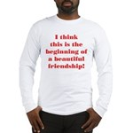 Beautiful Friendship Long Sleeve T-Shirt