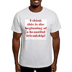 Beautiful Friendship Light T-Shirt