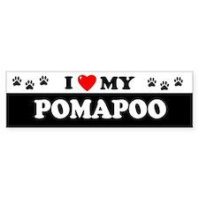 POMAPOO Bumper Bumper Sticker