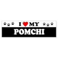 POMCHI Bumper Bumper Sticker